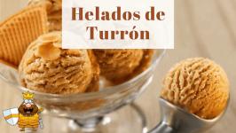 Helado de Turrón Casero de Jijona