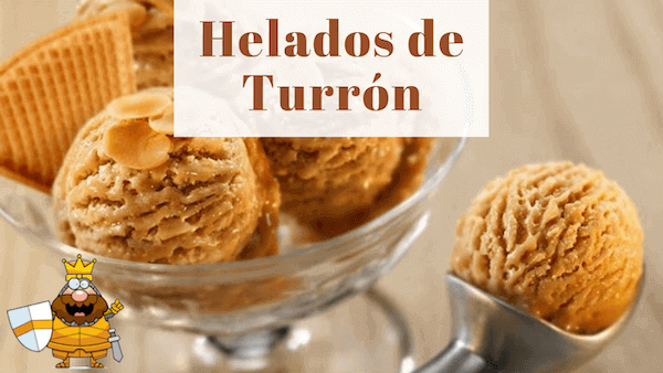 Helado De Turron Casero De Jijona Esta Delicioso