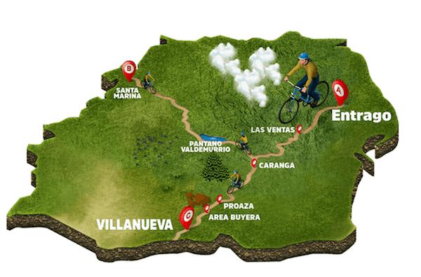 Ruta de la Senda del Oso en Tuñón Asturias