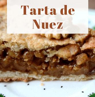 Tarta de Nuez con Nueces de Asturias